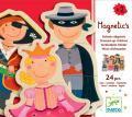 Puzzles magnétiques - Magnetic's Enfants déguisés