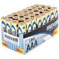 Piles Alcaline 1,5V LR03 AAA Maxell - Lot de 32
