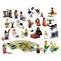 Boîte de figurines fantastiques + accessoires