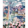 Puzzle en bois d'environ 24 pièces, PARIS AU PRINTEMPS de Raoul DUFY
