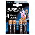 Piles 1,5V LR06 Duracell Ultra Power - Blister de 4