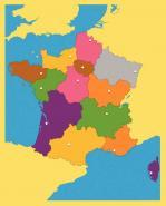 PUZZLE FRANCE 13 REGIONS