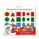 Maxi gommettes géométriques holographiques - Pochette de 720