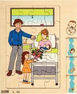 PUZZLE 4 NIVEAUX LA GROSSESSE