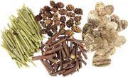 Lot de plusieurs formes thèmes nature avec brindilles, mini bambou, mini pommes de pin et cœurs en écorce d'arbres