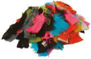 Plumes couleurs assorties- Sachet de 25g