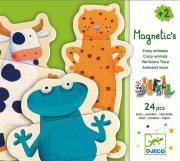 DJ03111- Puzzles magnétiques - Magnetic's Crazy animaux