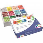 Classpack de 432 pastels à l'huile 8mm