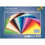 Paquet de 50 feuilles 130 grammes 25x35 cm coloris assortis