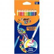 Etui de 12 crayons de couleur évolution