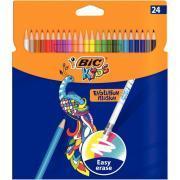 Etui de 24 crayons de couleur évolution illusion
