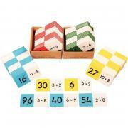 Domino 96 pièces multiplication de 2 à 9