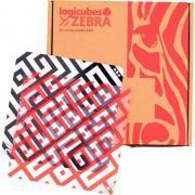 Boite de 15 cartes d'activités logicubes ZEBRA (04534)