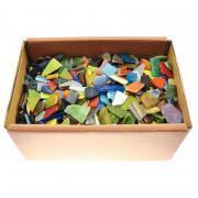 Eclats de mosaïque en verre - carton de 2kg