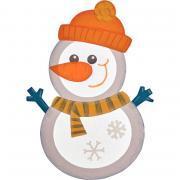 Kit de 6 bonhommes de neige à assembler