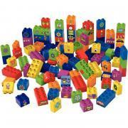 Boite de 100 briques de construction BIOBUDDI