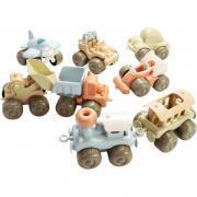Lot de 8 véhicules BIOPLASTIC