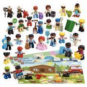 Les personnages LEGO 44 pcs