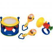 Lot de 3 instruments de musique TOLO