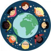 Tapis ultra soft - les enfants du monde