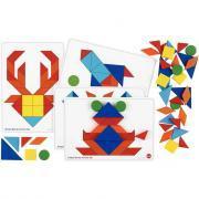 Set de 160 formes géométriques + 8 cartes d'activités