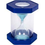 Sablier XXL 5 minutes bleu