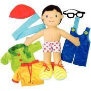 Maxi poupée d'apprentissage Max