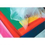Papier de soie - Couleurs assorties - Paquet de 24 feuilles