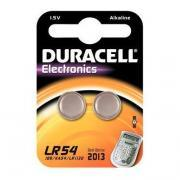 Piles bouton LR54 Duracell Electronics - Blister 2