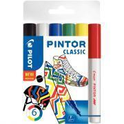 Marqueur Pintor classic pointe fine - Pochette de 6