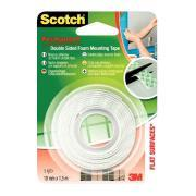 Scotch - Rouleau mousse double face -  1,5m x 19mm