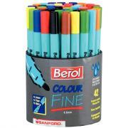 Feutres Colour Fine - Pointe fine - Pot de 42