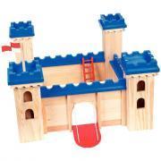 Maxi château médiéval en bois