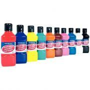Peinture vinylique plastifiante - Lot de 10 flacons de 250ml