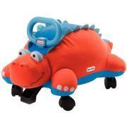 Dinosaure sur roues en tissu
