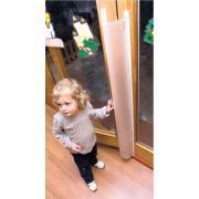 Protection de porte - Glissière anti pincement de doigts