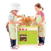 Combiné cuisine gourmet en bois