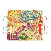 Maxi labyrinthe magnétique - Le zoo