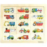 Beleduc - Encastrement  - Drôles de véhicules