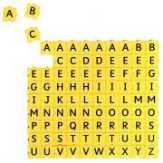 Lettre majuscule Morphun - Sachet de 90