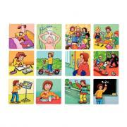 Cartes magnétiques histoire - Boîte de 26