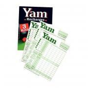 Jeu de société YAM 421 - Bloc recharge