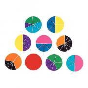 Cercles fractions - Rainbow Fraction® Circles