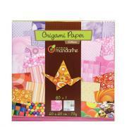 Avenue mandarine - Papier Origami Lollipop - Pochette 60
