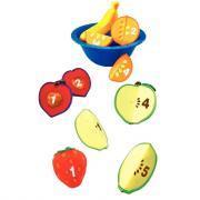 Fruits magnétiques pour compter - Set 5