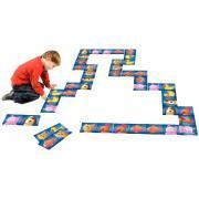 Domino de sol 30 pièces 29x14.5mm Thème les animaux rigolos