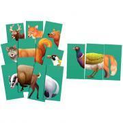 Mic Max 30 pièces : Thème les animaux de la forêt