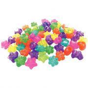 Perles fantaisie en plastique - Sachet de 500