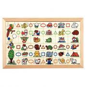 Geo-domino - Puzzle 36 formes géométriques