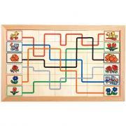Puzzle 42 lignes couleurs